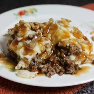 Salisbury Steak Shepherd's Pie #shepardspie