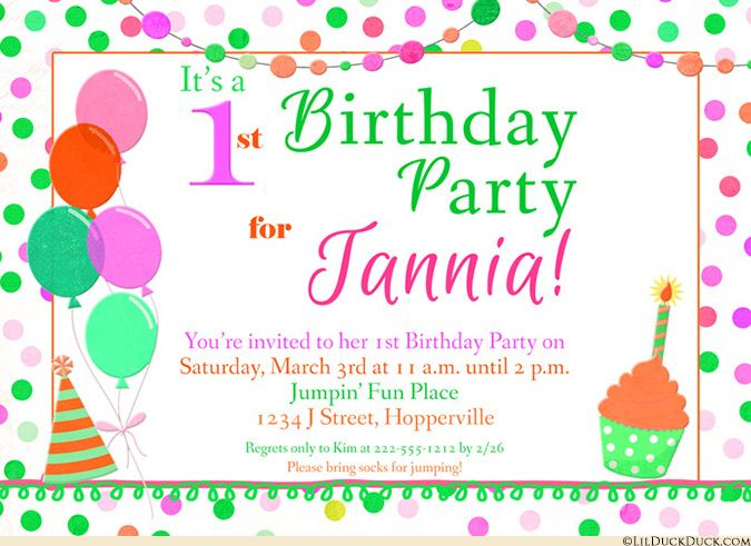 Bright flower happy birthday invitations flowers balloons bright flower happy birthday invitations flowers balloons cupcakes filmwisefo Images