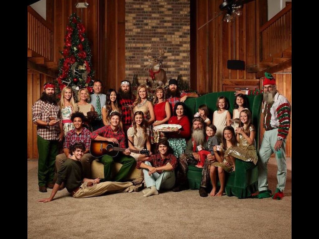 Duck Dynasty Family.... Look How Big There Family Is