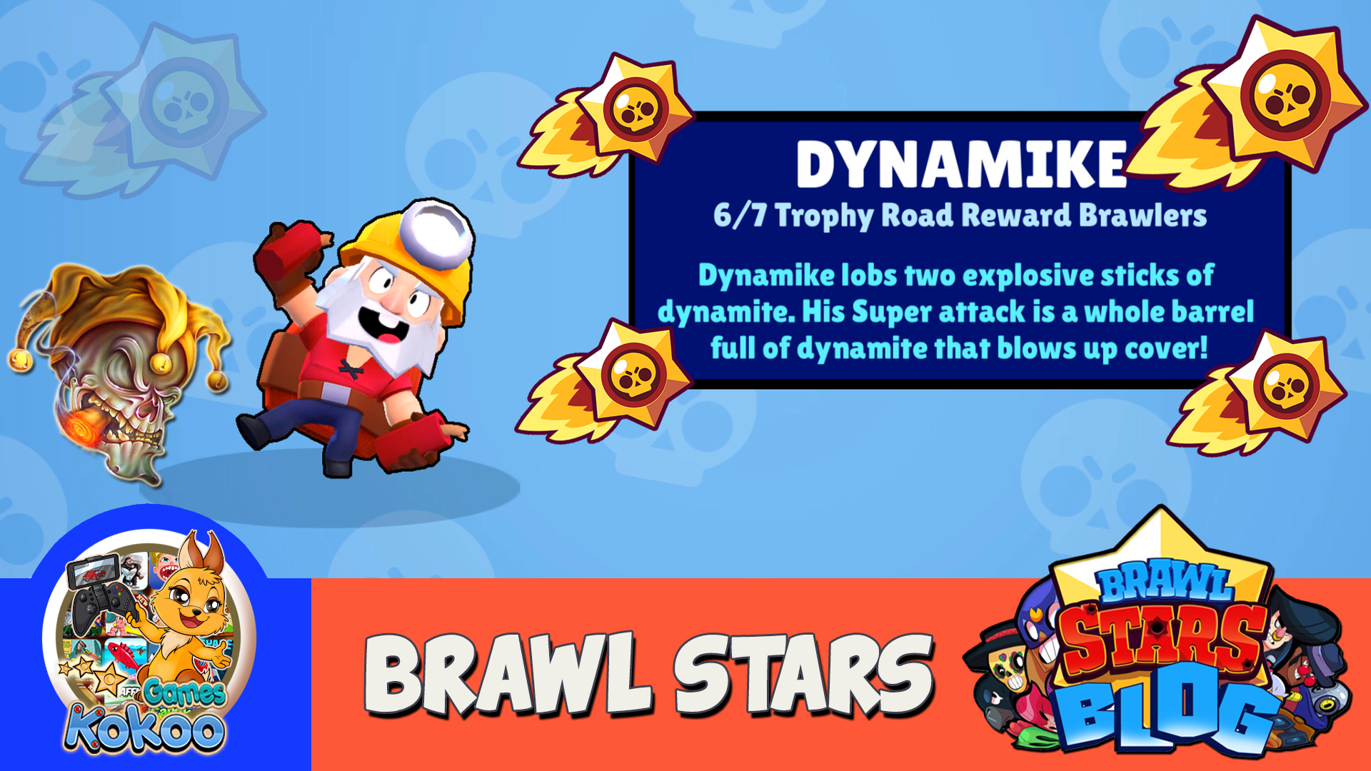 BRAWL STARS PART 9 I HAVE A NEW BRAWLER DYNAMIKE