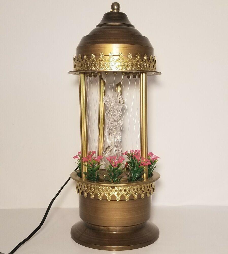 Super Rare Vintage Tabletop Mineral Oil Rain Lamp Goddess G W 1985 Taiwan In 2020 Rain Lamp Lamp Vintage Tabletop