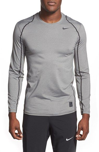 NIKE 'Pro Cool Compression' Fitted Long Sleeve Dri-Fit T-Shirt ...