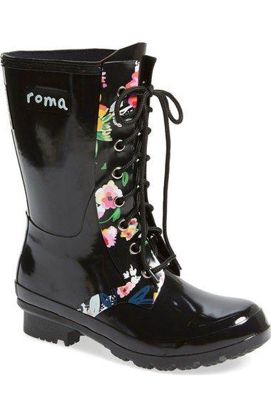 b691c8951 roma 'Epaga' Floral Rain Boot (Women) available at #Nordstrom ...