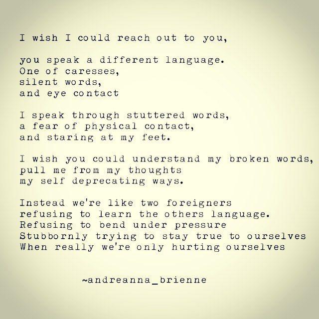 Someday I\u0027ll find someone that understands my language. #lost #love