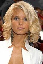 Celebrity Hair Styles With Image Jessica Simpson Hairstyles Especially Jessica Simpson Blonde Medium Hair Gallery Picture 7 #jessicasimpsonhair
