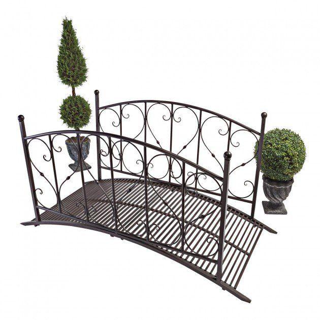 Design Toscano Lovers Bridge Metal Garden Bridge * See This Great Product.