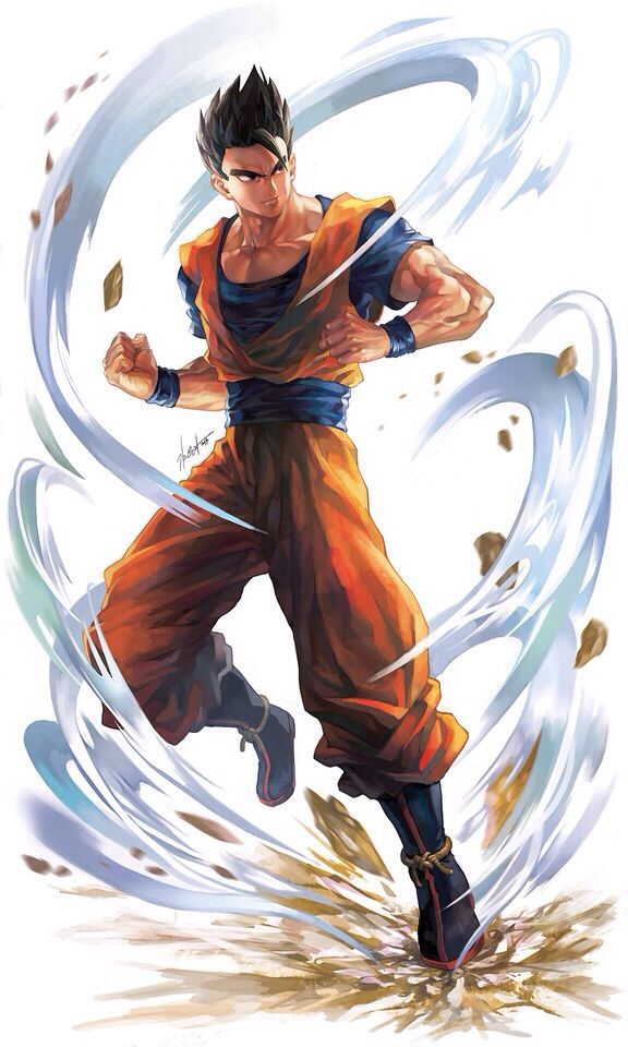 Gohan Personajes De Dragon Ball Dibujos Dragones