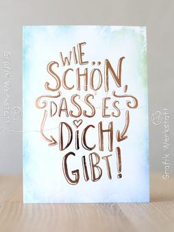 Wie Schön Postkarten Grafik Werkstatt Bielefeld Greetings