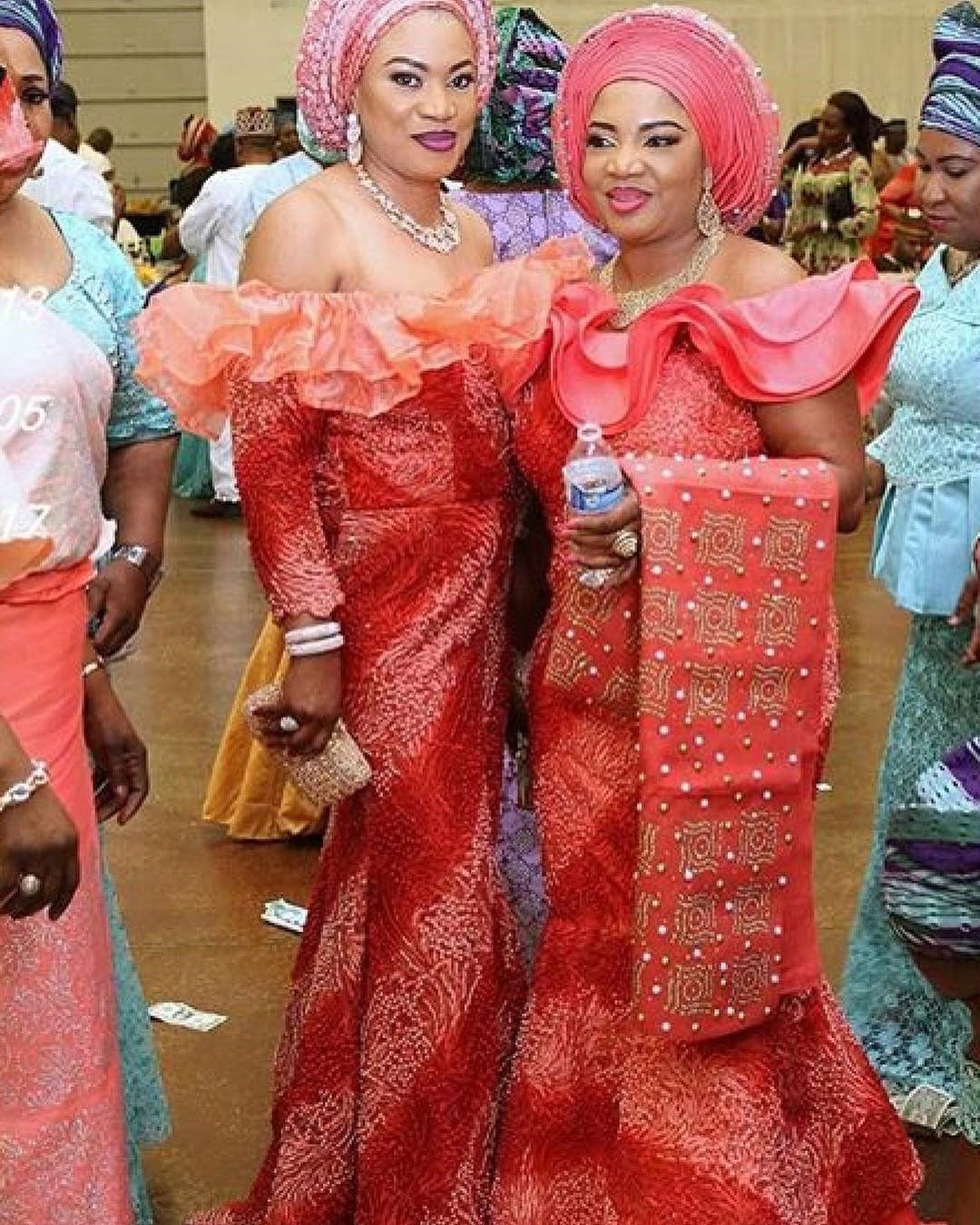 There are a number of ways to make yourself stand out with an aso ebi styleNigerian Yoruba dress styles , Even if you are reasoning on what to create and slay with an Nigerian Yoruba dress styles. Asoebi style for events come in a lot of patterns and designs.   The Ankara designs beauty of this print is that it comes in many designs and textures. Ankara will allow you make a correspond of any fabric without losing the Ankara dress styles flair. #nigeriandressstyles