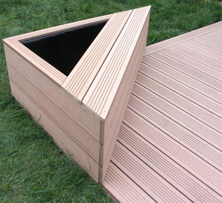 Terrasse en lames de composite u2026 Pinteresu2026