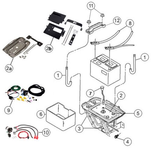 interactive diagram mopar soft top hardware for jeep wrangler interactive diagram jeep wrangler tj battery trays cables clamps morris 4x4