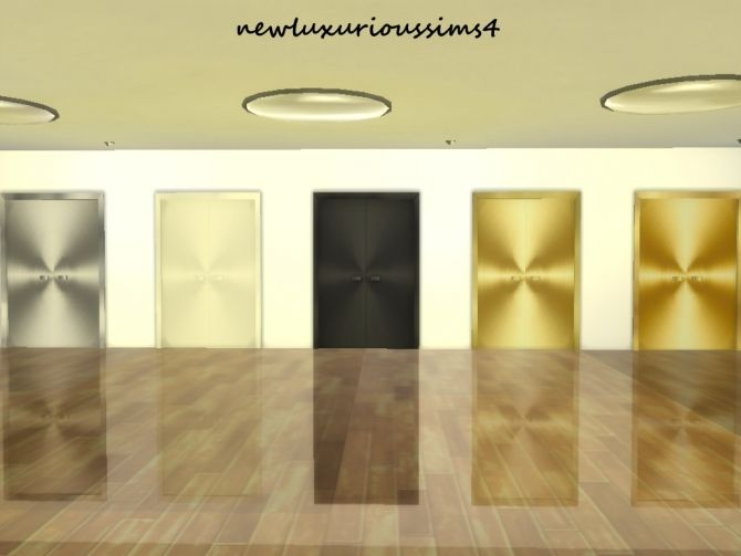 THROWN ROOM DOORS at NEW Luxurious Sims 4 via Sims 4 Updates