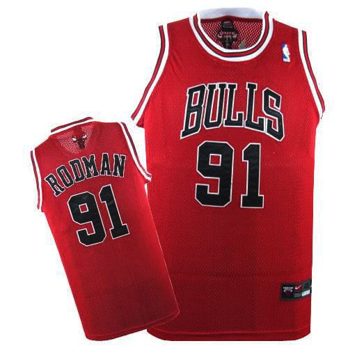 b76ec9a9136 Dennis Rodman jersey-Buy 100% official Nike Dennis Rodman Men's Authentic  Red Jersey NBA Chicago Bulls #91 Free Shipping.
