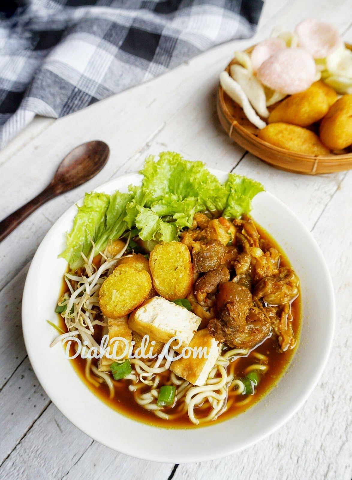 Diah Didi S Kitchen Tahu Campur Lamongan Masakan Resep Masakan Sehat Resep Tahu