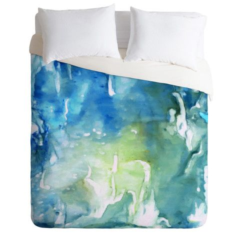Deny Designs Home Accessories Rosie Brown Sea World Duvet Cover Duvet Covers Brown Duvet Covers Bed Decor