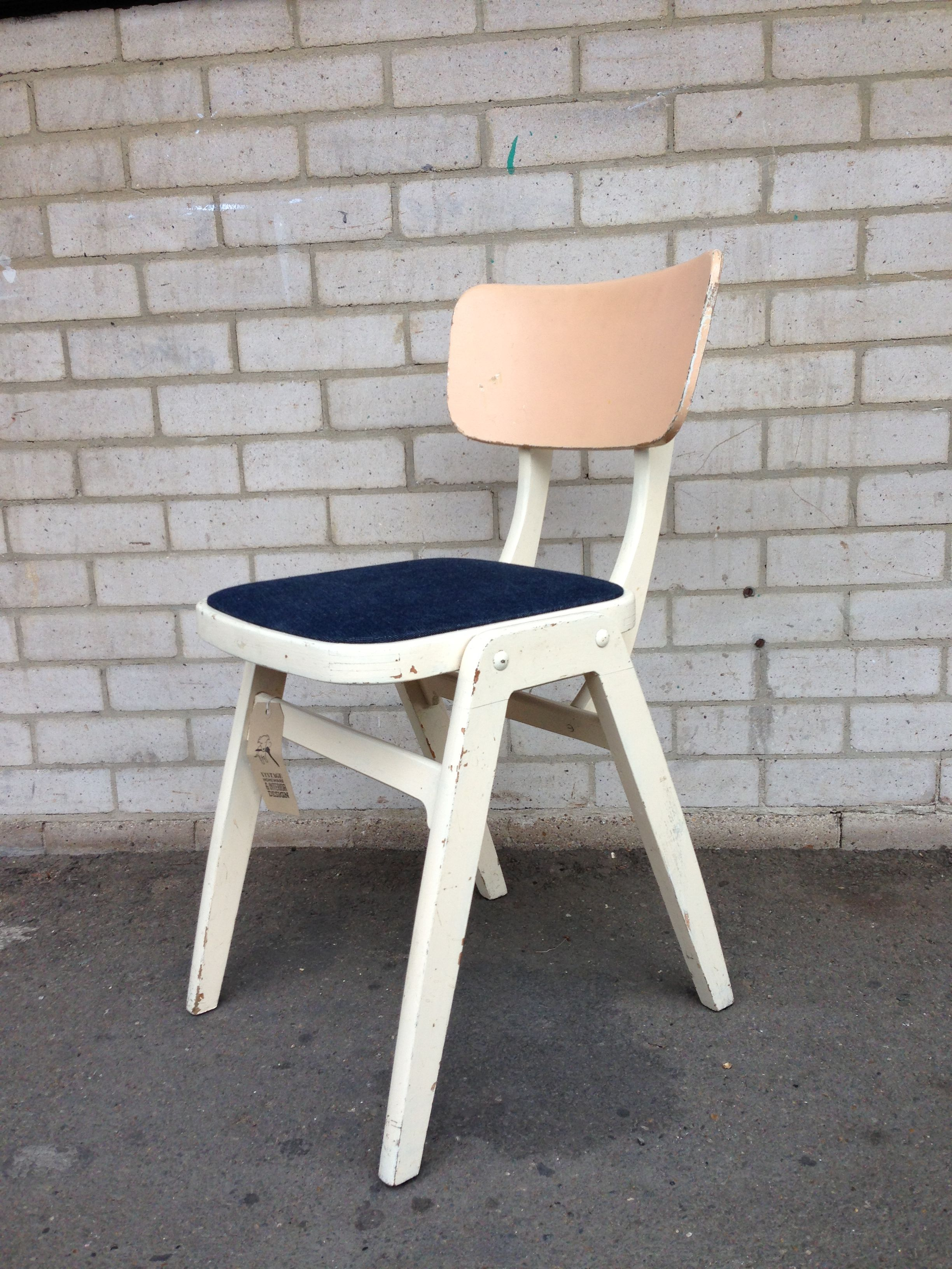 1950 s benchairs british made and designed for cafe s painted white rh pinterest com