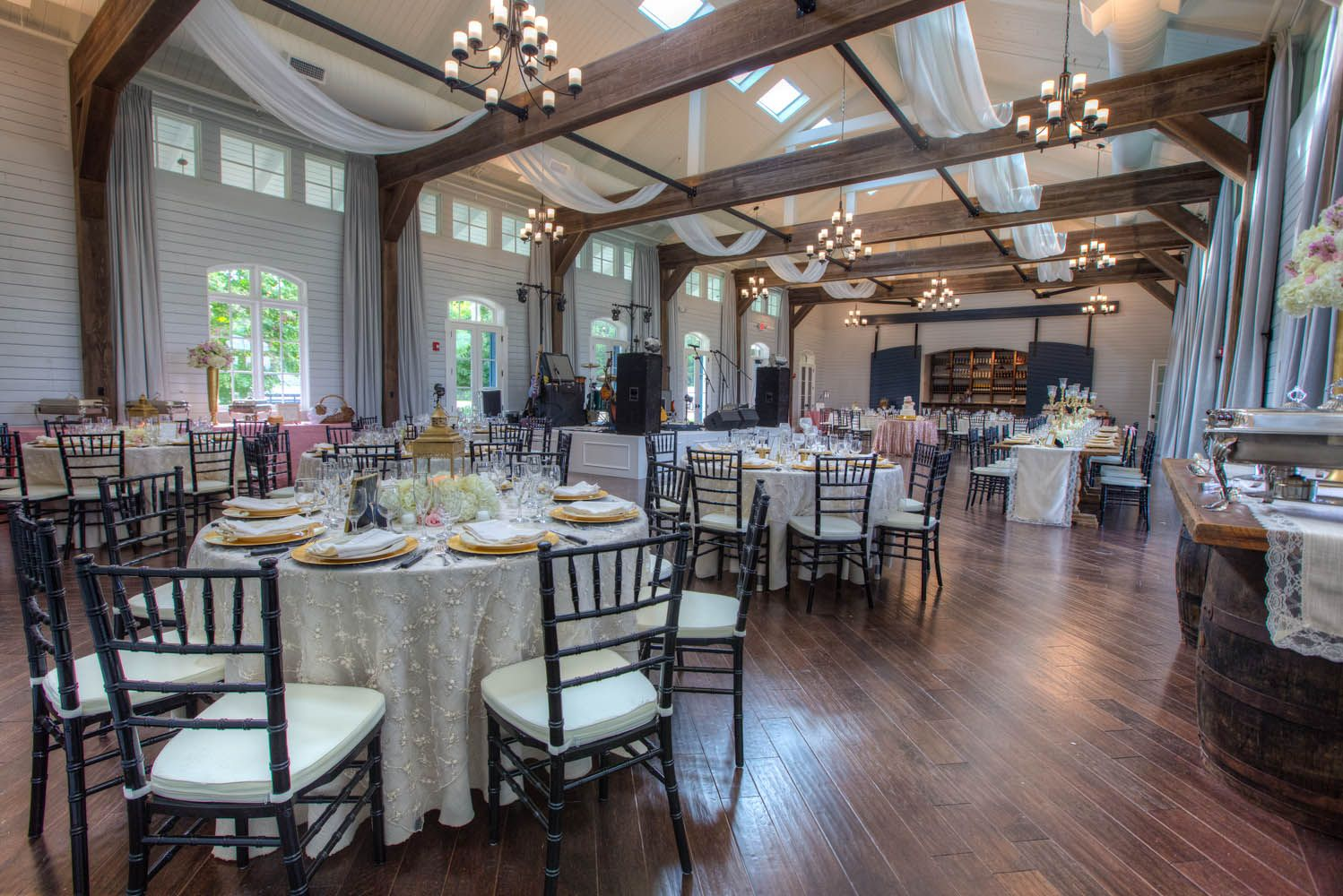 kinsley steven foxhall resort wedding at the stables