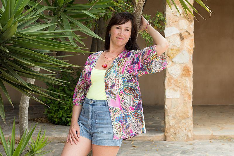 Kimono nähen   Kimono-stil, Jacken und Kostenlos