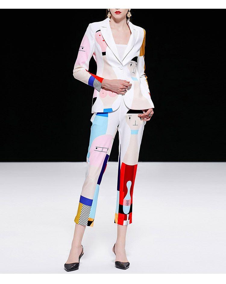 Colorful Pant Suits