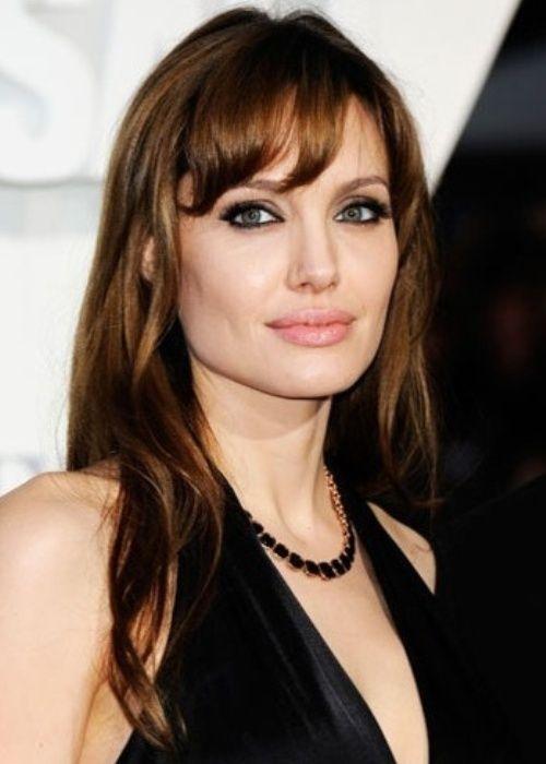 Angelina Jolie Schauspielerin Und Menschenrechtsaktivistin Sieht