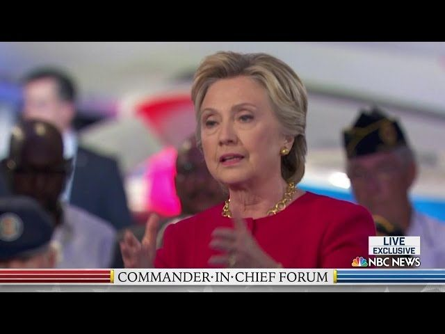 Clinton 'always will' take classified emails seriously