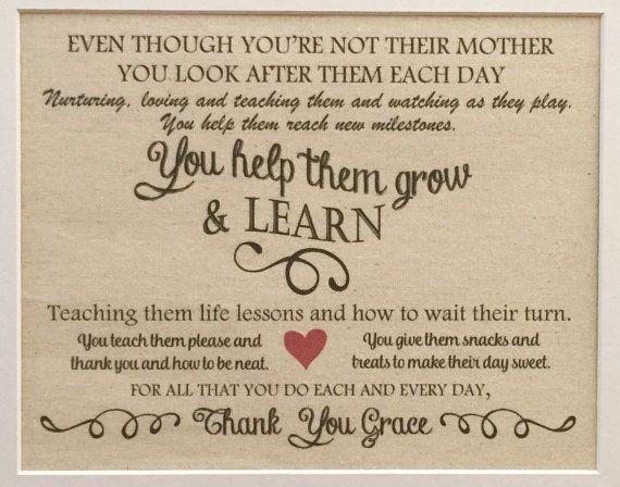 Caregiver Print Babysitter Print Valentine's Day by