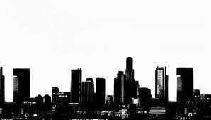 Los Angeles Skyline Wallpaper Los Angeles Skyline Skyline Skyline Drawing