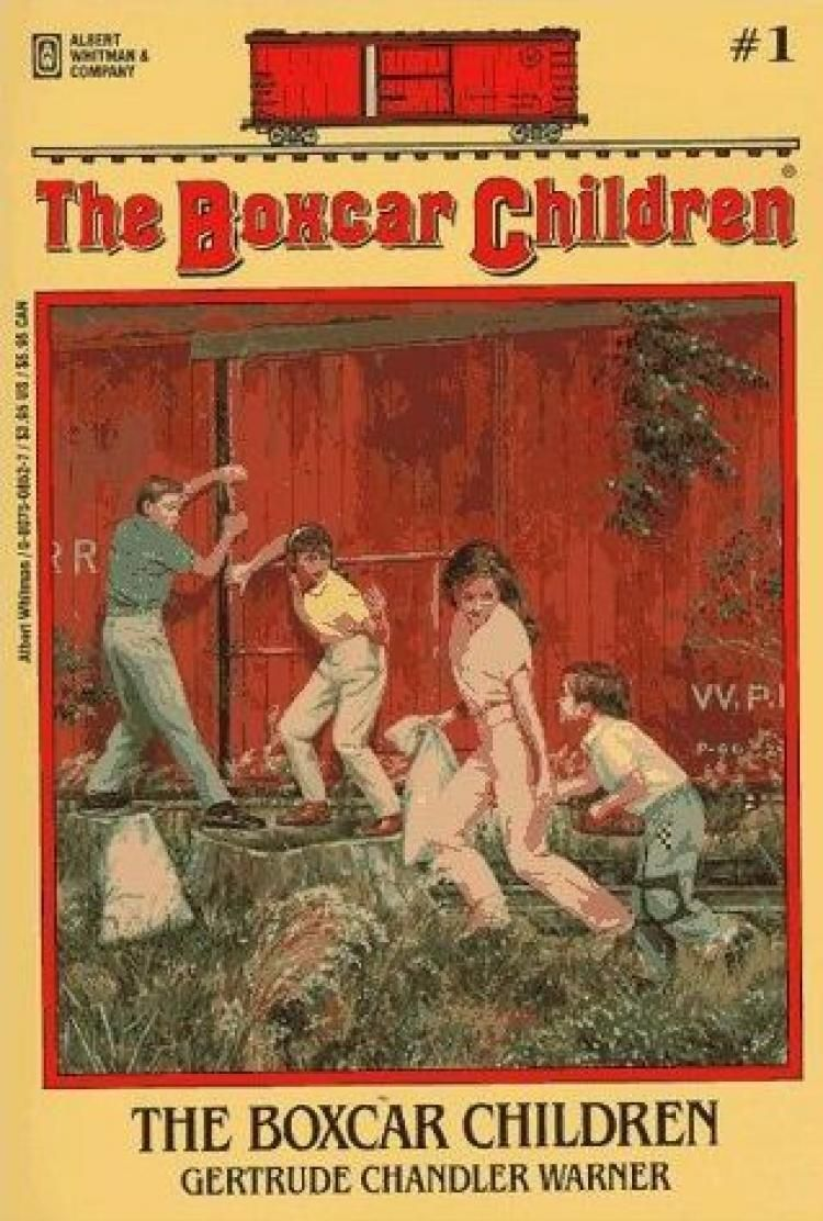The Boxcar Children. My favorites!! Boxcar children