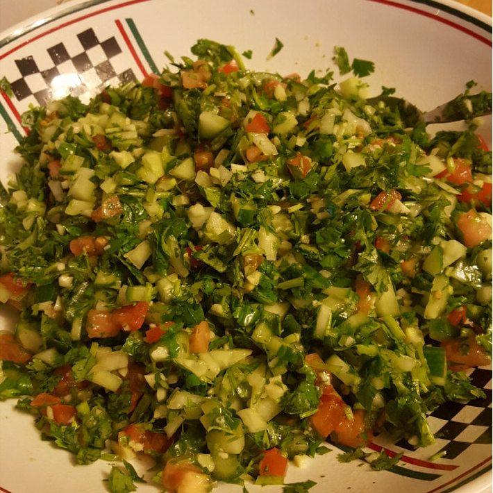 Lisas Cilantro Salad Recipe PDF Digital Download Salad