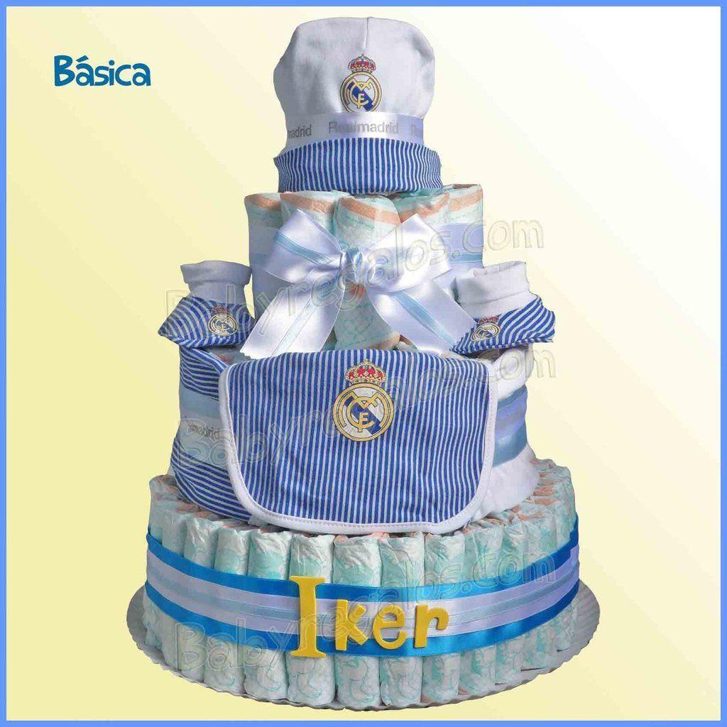 Tarta De Panales Futbol Real Madrid Tarta De Panales