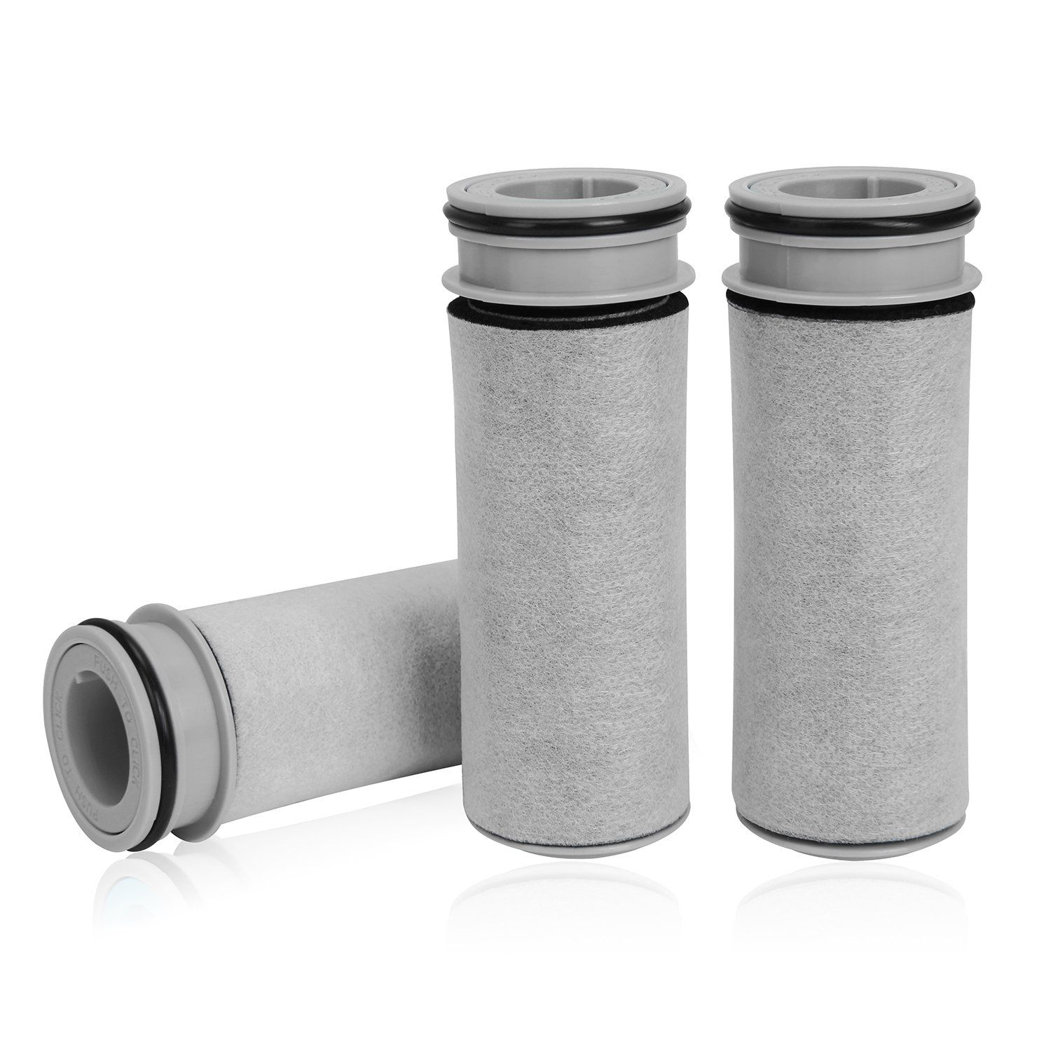 3 pack water filter replacement for brita stream pitcher