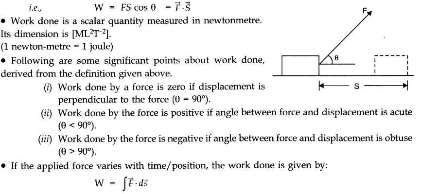 Work Energy And Power Cbse Notes For Class 11 Physics Learn Cbse Workenergyandpower Cbsenotesfodrclass11phys In 2020 Work Energy And Power Physics Notes Physics