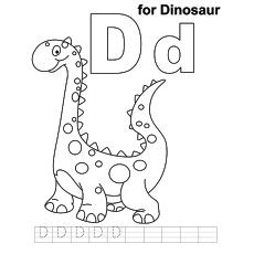 free online alphabet coloring pages | Top 35 Free Printable Unique Dinosaur Coloring Pages ...