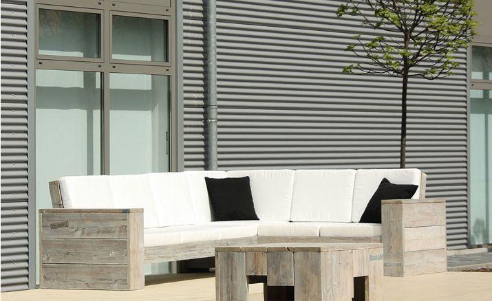 Loungemöbel balkon holz  Lounge Ecksofa » WITTEKIND Gartenmöbel » Holz Gartenmöbel ...