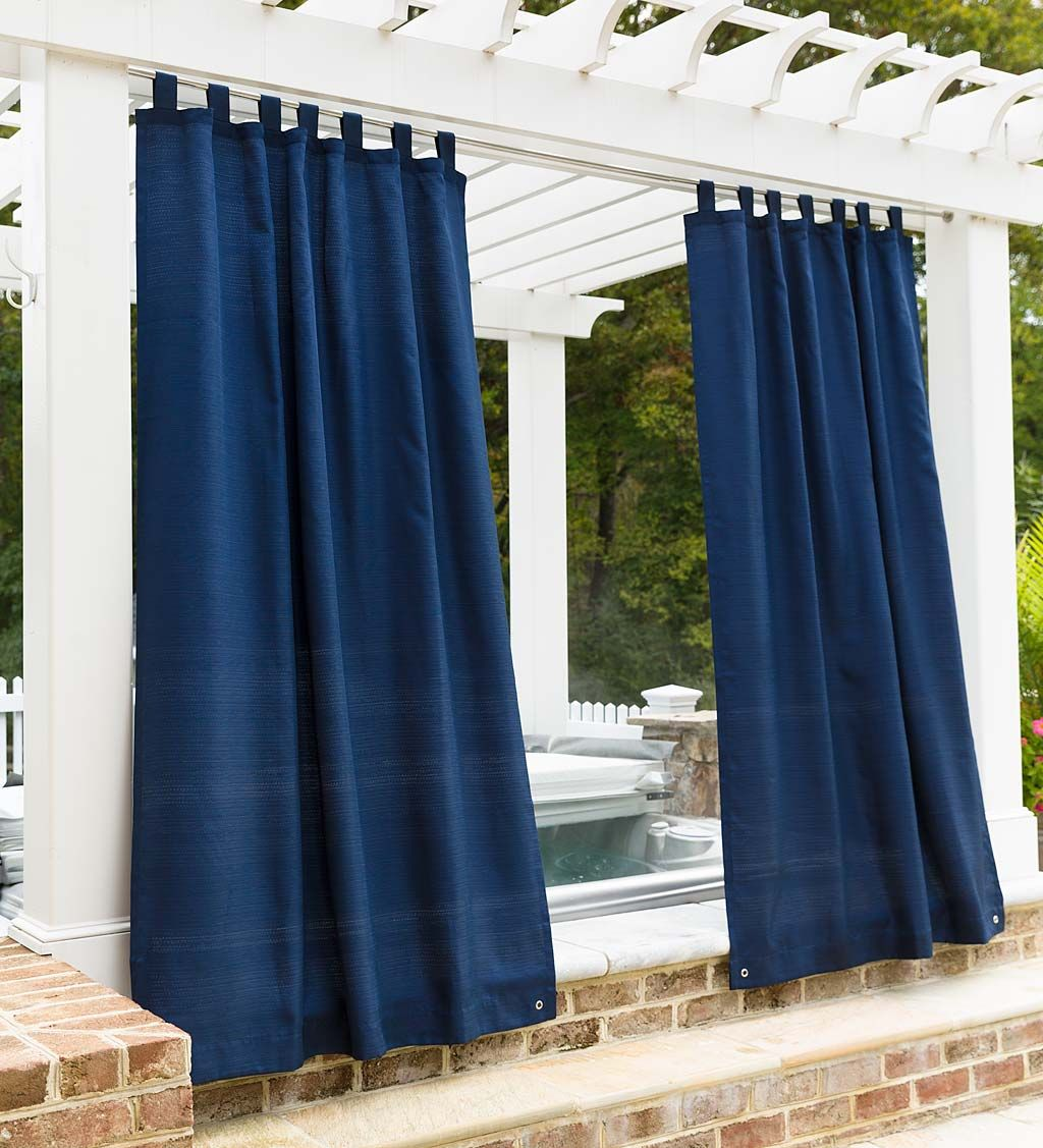 solid p grommet panels sheer outdoor curtain panel escape