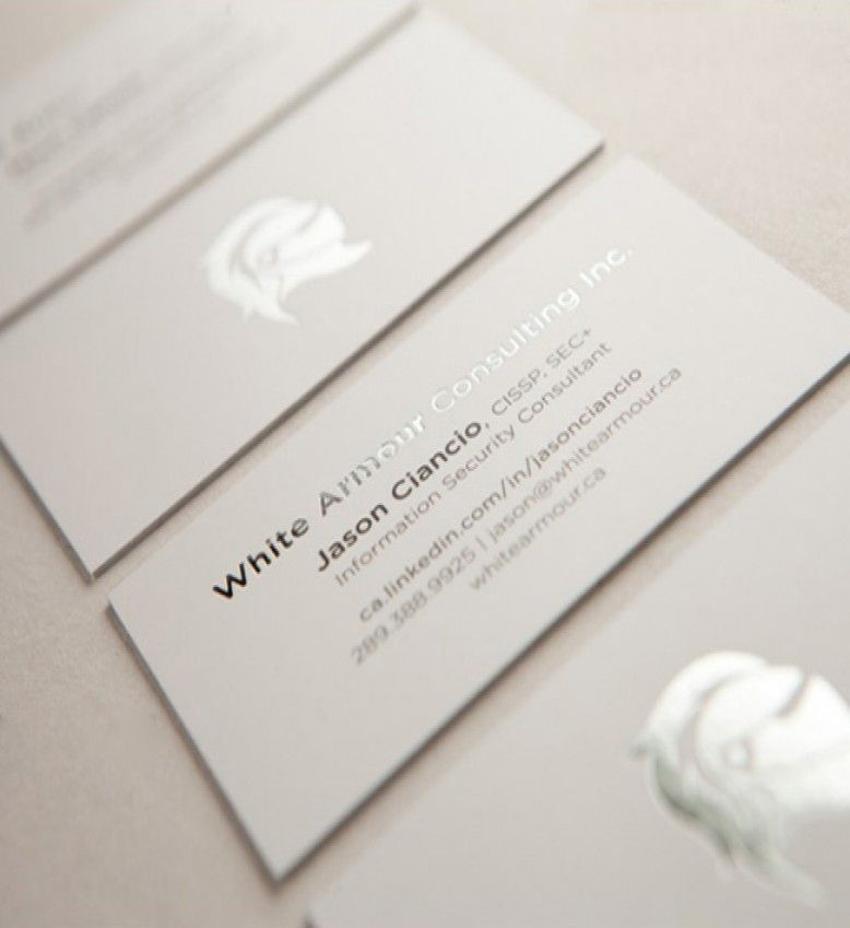 Print custom Foil business cards with Promo Print! Select from a ...