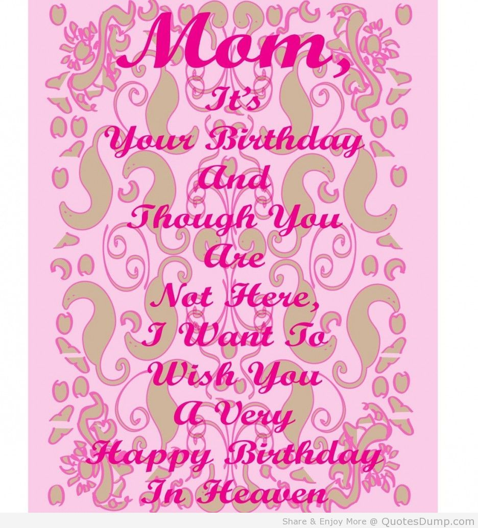 Happy birthday mom quotes mom pinterest happy birthday mom happy birthday mom quotes kristyandbryce Choice Image