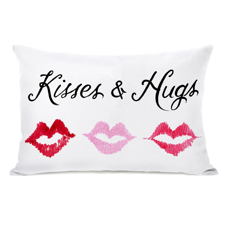 Kisses u hugs pillow stuff to buy bedroom pinterest pillows