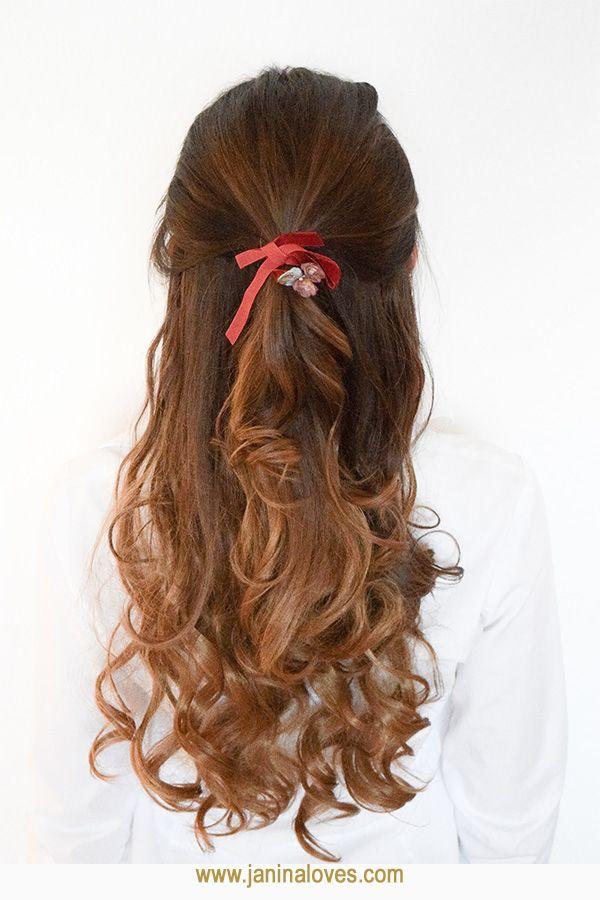 6 Schöne Und Einfache Frisuren Mit Samt Haarband Hairstyles
