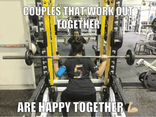 My partner in crime helping me drop it down low lol #FitCouple #fitness #MarriedLife