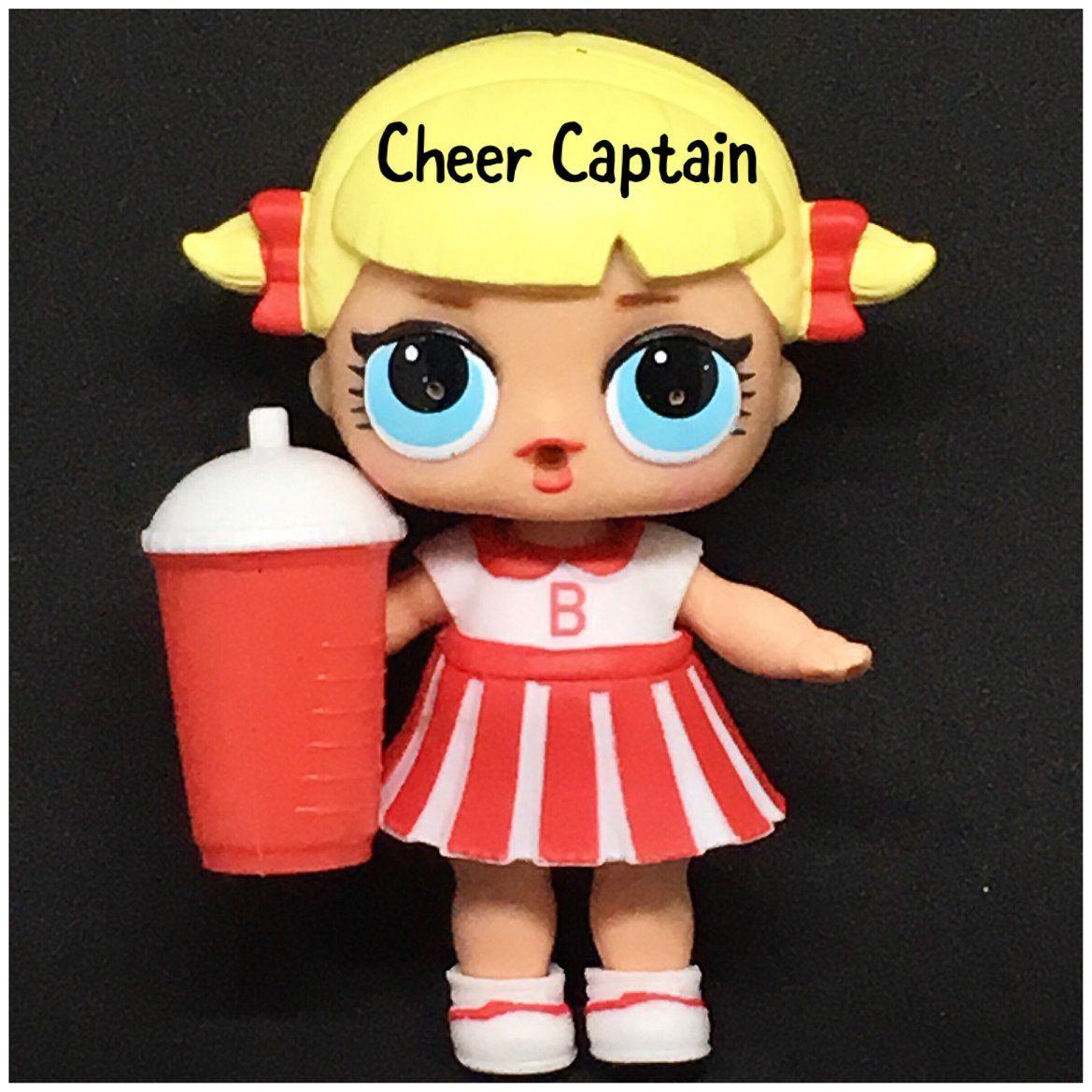 Lol Doll Cheerleader Logo Collection