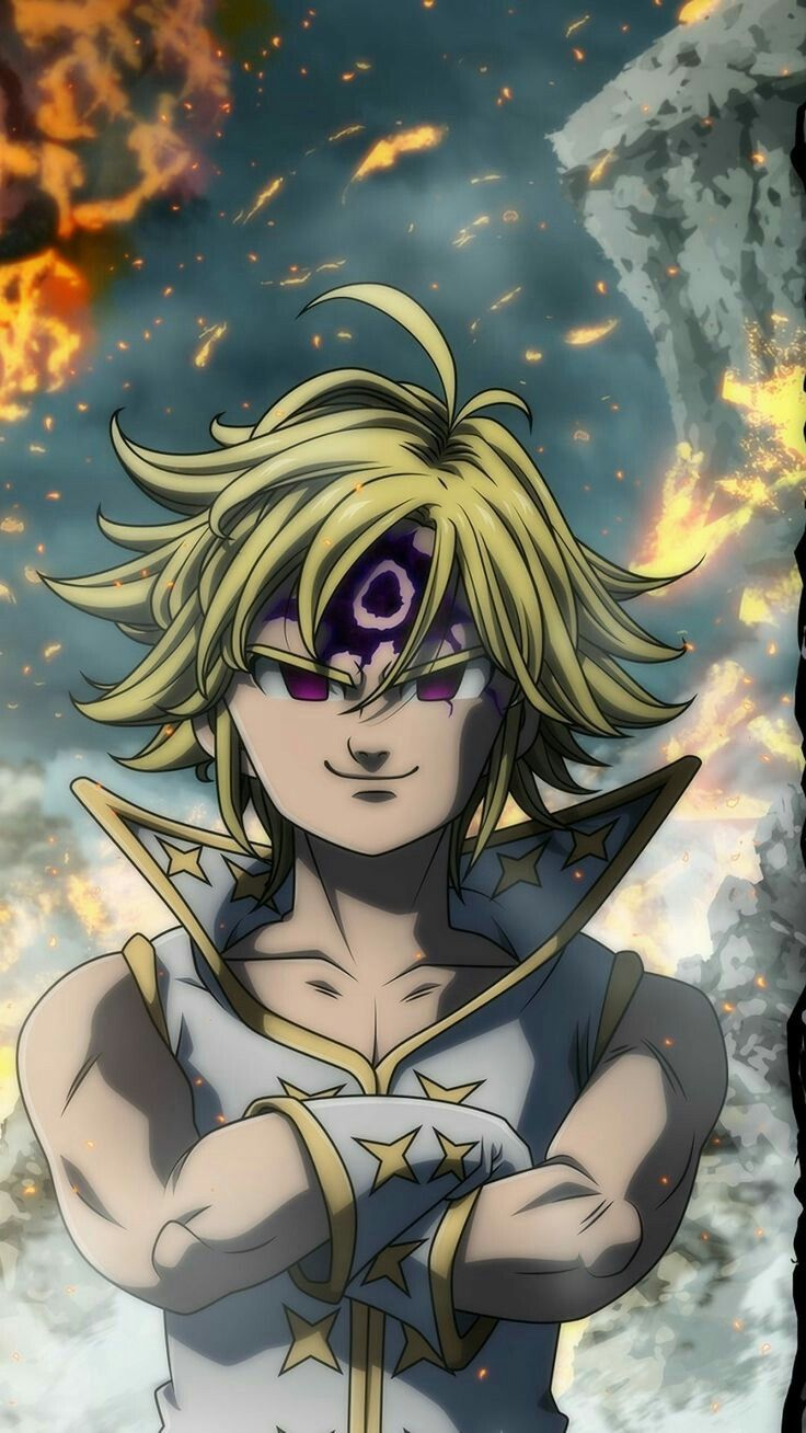 Wallpaper Seven Deadly Sins Anime Demon King Anime Anime Demon