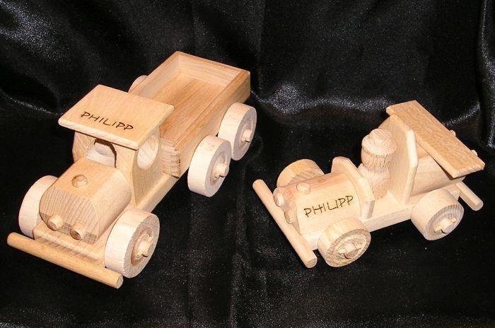 holzauto kinder holzspielzeug fahrzeug kleinkind geschenk. Black Bedroom Furniture Sets. Home Design Ideas