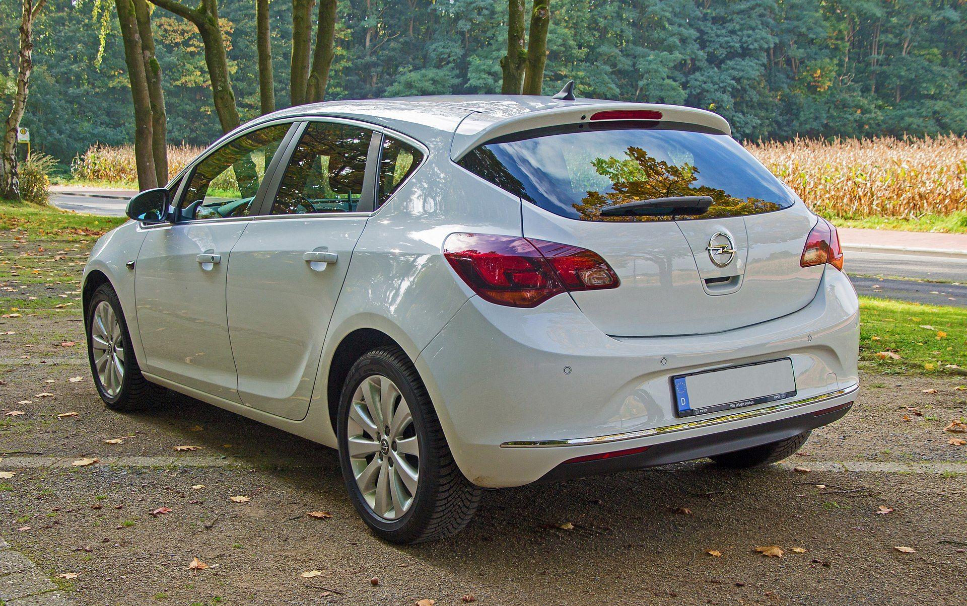 Opel Astra J Modellpflege Heck Opel Astra J Wikipedia