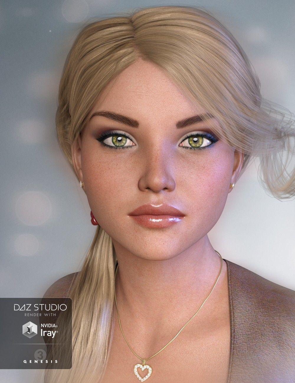Gdn3a Eliza For Genesis 3 Female Models And By Daz