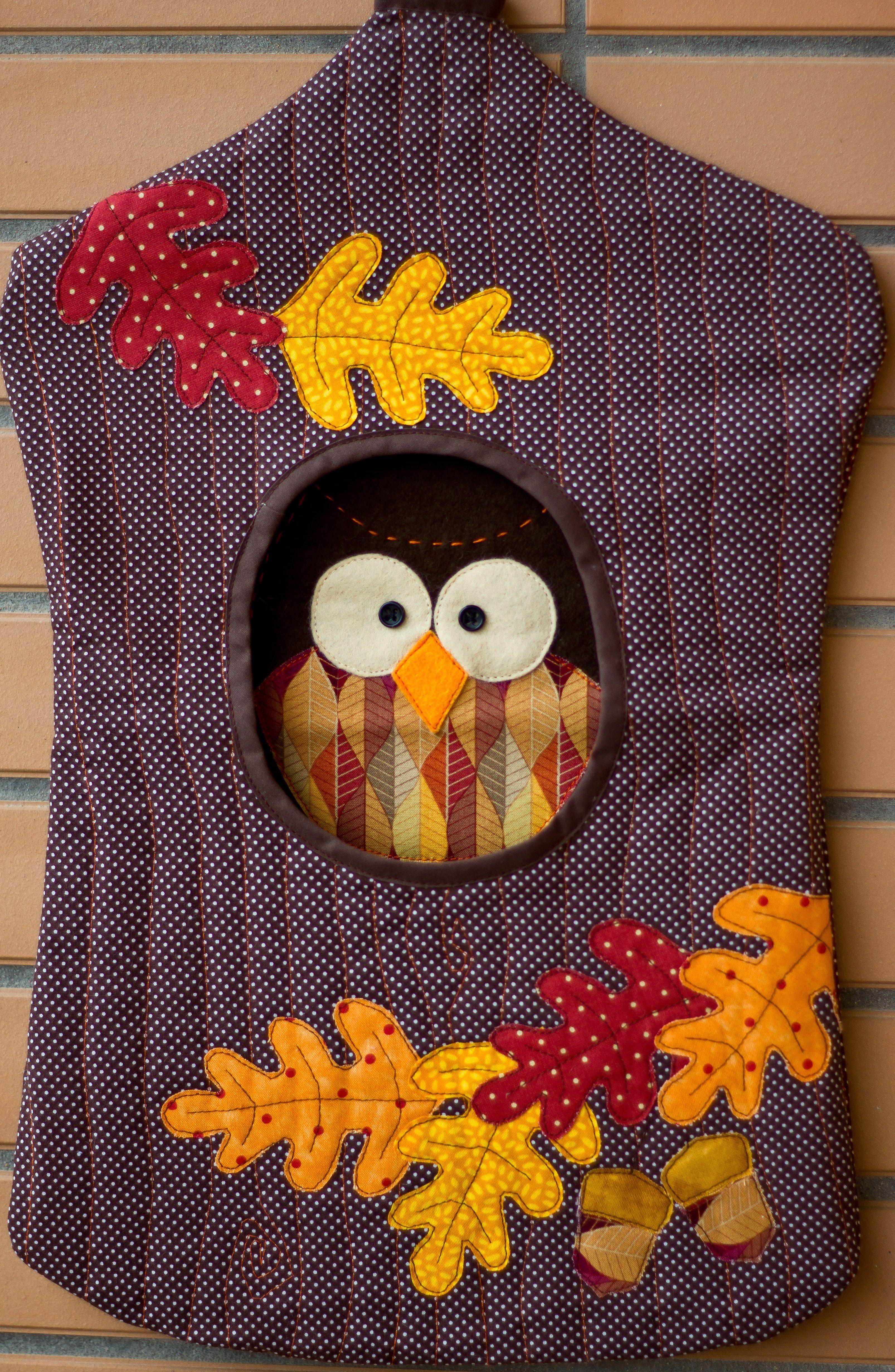 Esta coruja, guarda no seu tronco, os sacos de plástico. | идеи для ...