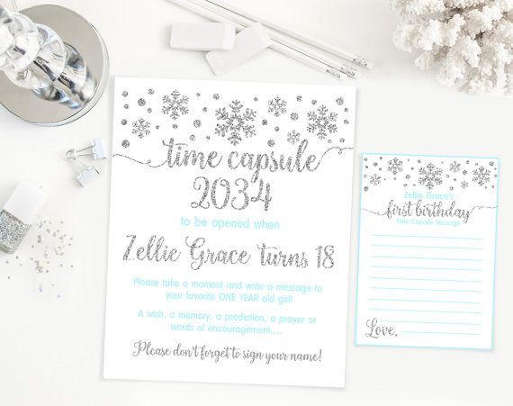 Any color time capsule sign with message cards by kattygoodparty party invitations any color time capsule sign with message cards by kattygoodparty stopboris Choice Image