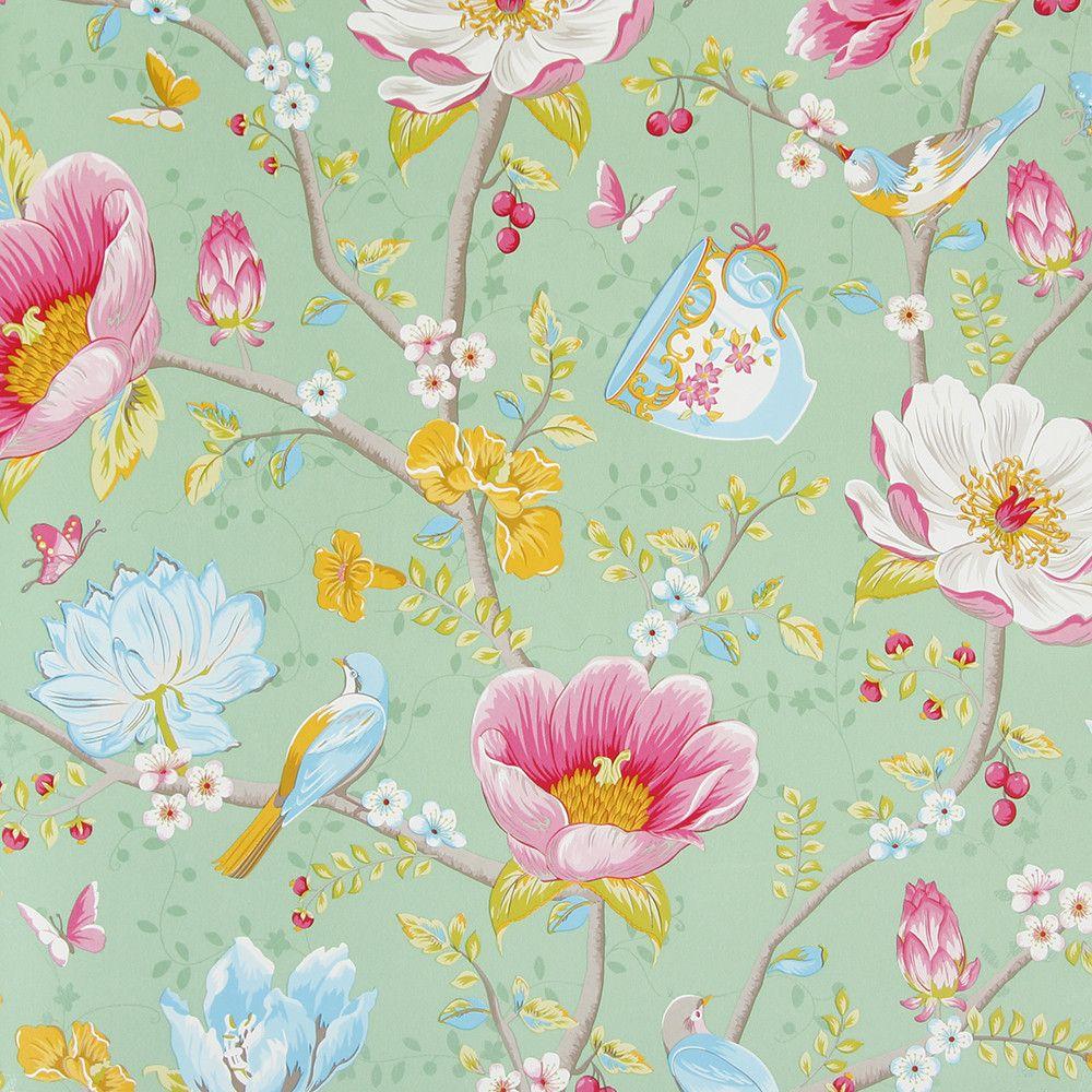 Discover the pip studio chinese garden wallpaper 341005 for Pip probert garden designer