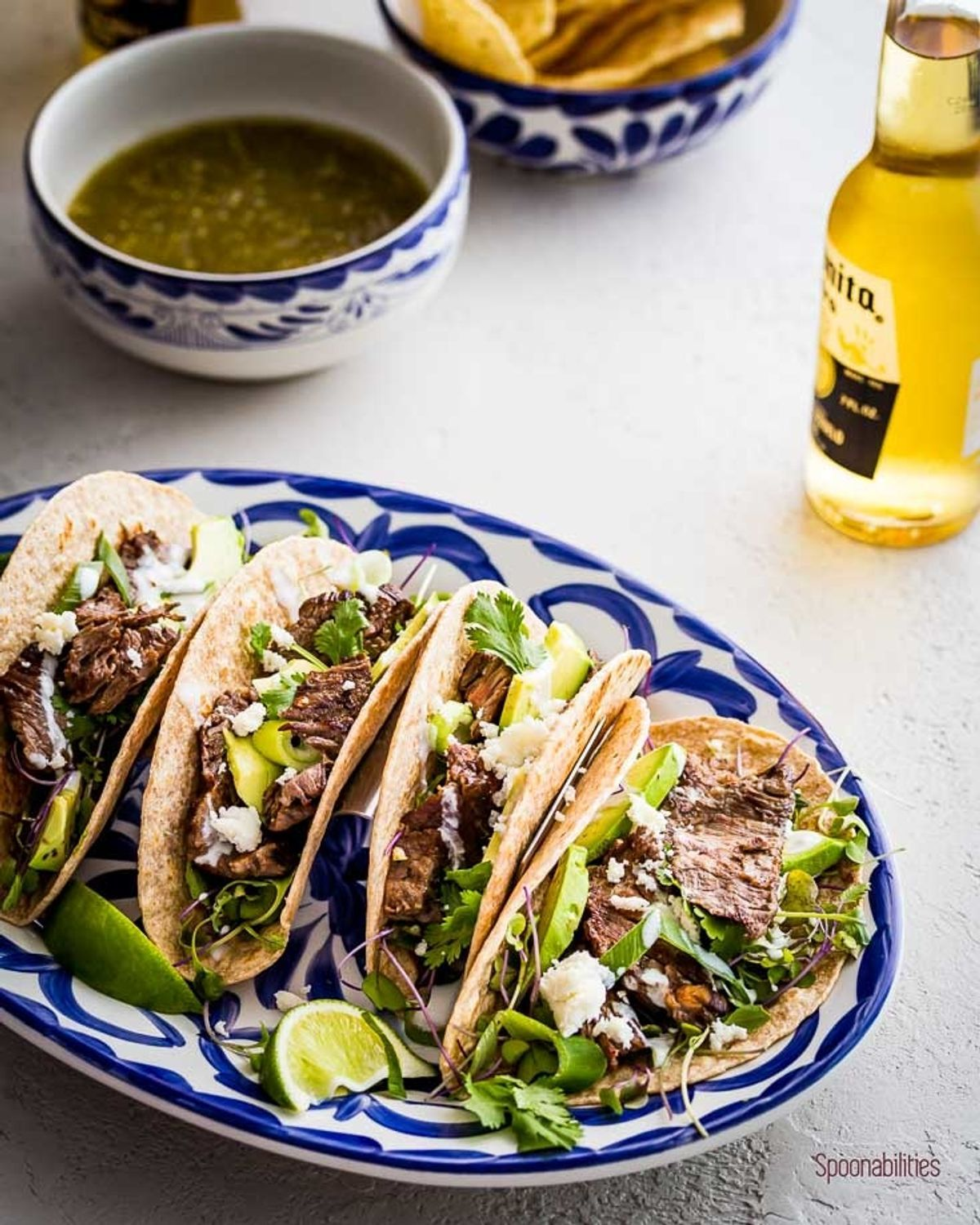 Skirt Steak Tacos Recipe #asadatacos