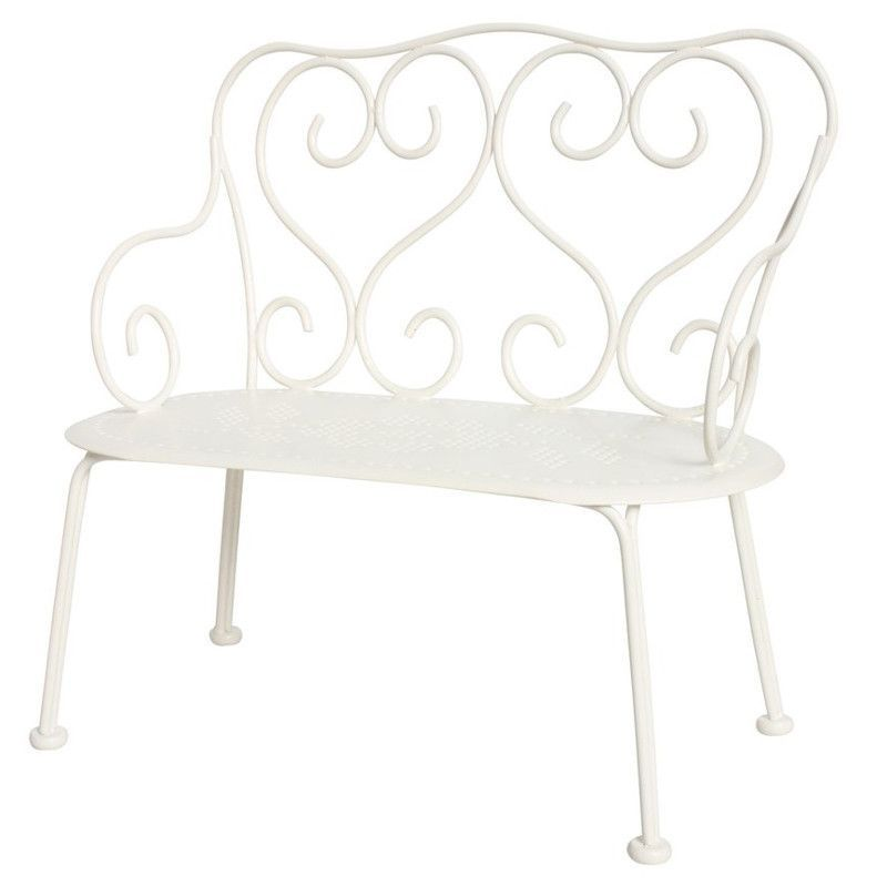 Sensational Maileg Metal Bench For Small Dolls White Products Bench Gamerscity Chair Design For Home Gamerscityorg